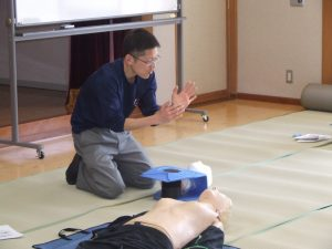 救急救命講習(4)